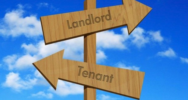 image showing tenant and landlord billboard signs